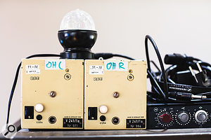 A rare pair of East German RFT V241/1a preamps.
