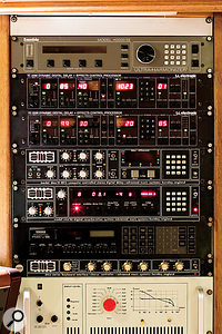 Studio A  boasts a  vast array of digital reverb and delay processors, including these Eventide, AMS, EMT, TC Electronic and Yamaha units.