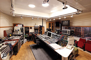 Atlantis's Neve desk dates back to 1972, and is surrounded by much equally desirable outboard gear.