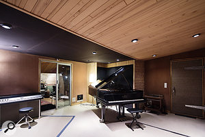 Almost half a dozen live rooms occupy most of the floor space in the basement.