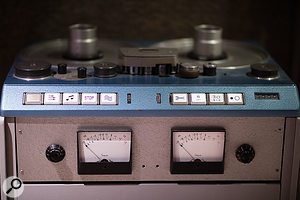 Recording platforms include this classic Studer J37 tape machine.