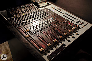 Studio 2's Neumann console, based on germanium transistors.