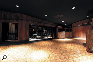 The history of Studio A's wood-panelled control room is palpable.