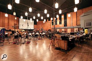 Studio File: Newman Scoring Stage, Los Angeles