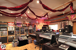 Studio D is now home of Jack Joseph Puig's massive equipment collection.