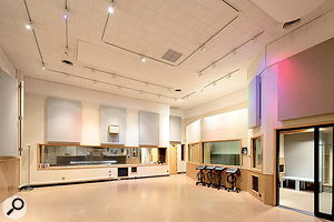 Sunset Sound Studio 2's large live area.