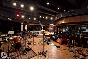 The large live area in Village Recorders Studio D.