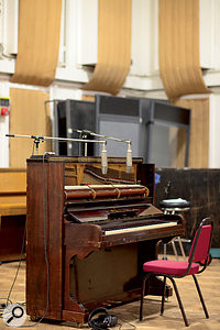 The so-called 'Mrs. Mills' Steinway piano was played on numerous Beatles sessions. It can be heard prominently on 'Penny Lane' amongst many other tunes.
