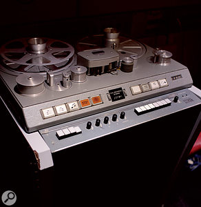 One of the four Studer J37 tape recorders acquired by Abbey Road in 1965.