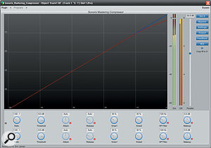 As well as offering a  variety of stereo linking/de-linking options, the plug-in can also be operated in Mid/Sides mode.