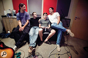 Indie band Dunning Kruger, the subject of this first Session Notes feature.