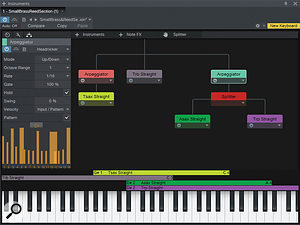 The new Multi–Instruments let you combine instrument and Note FX plug–ins to form complex layered and split creations.