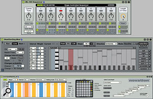 5: Three different MFL step sequencers available free from www. maxforlive. com.