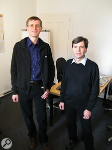Tilman Herberger (left) and Titus Tost of Magix.