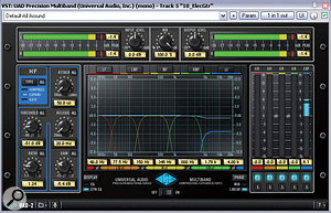 Fast, low-ratio expansion of asample's upper frequencies (as in the UAD Precision Multiband plug-in) can be quite effective at tackling background hiss. To pull down the hiss by more than about 6dB you'll probably need to call on dedicated noise-reduction software such as Voxengo's Redunoise..