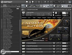 Sample Logic Cinematic Guitars
