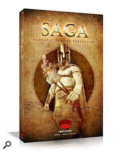 Red Room Audio's Saga Acoustic Trailer Percussion library.