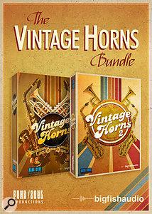 Big Fish Audio Vintage Horns Bundle sample library.