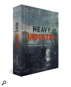 Zero-G Heavy Industry sample library box.