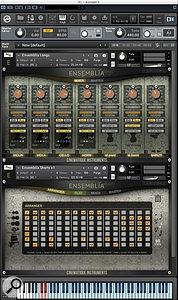Cinematique Instruments Ensemblia