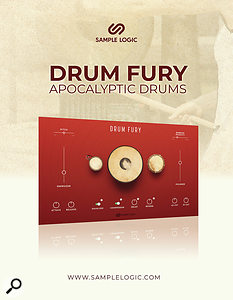 Sample Logic Drum Fury library.