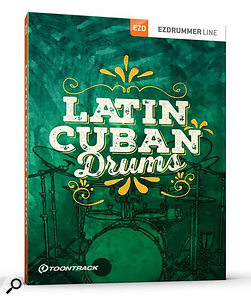 Toontrack Latin Cuban Drums EZX sample library.