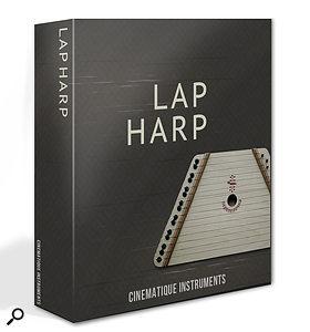 Cinematique Instruments Lap Harp sample library.