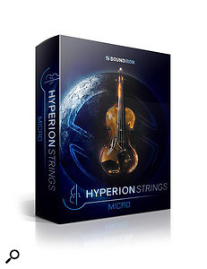 Soundiron Hyperion Strings Micro sample library.