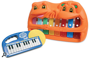Cheap toy soundmakers are fun and can be bought on almost any budget.