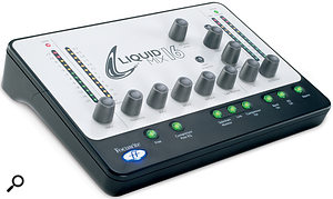 Much of the appeal of Focusrite's Liquid Mix DSP modelling technology, for less cash: the Liquid Mix 16.