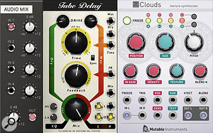Third-party modules and Softube effects add hugely to Modular's appeal.