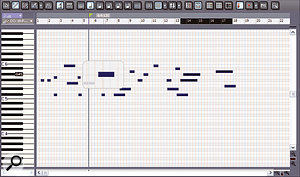 The MIDI Magnifier can offer an easy way into editing busy MIDI tracks.