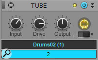 These settings work well as a point of departure for boosting drum loops with saturation.