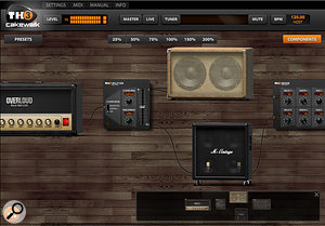 Placing a  conventional amp model in parallel with an impulse-based one multiplies your cabinet — and sound effects — options exponentially.