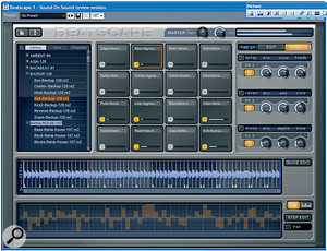Beatscape: 16 pads and all sorts of processing fun for your REX files.