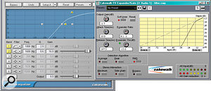The key to agood 'Acoustifier' effect is in the expander and EQ settings.