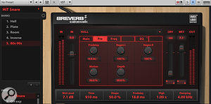 3. By adjusting the Predelay time, you can set the 'pitch' of the reverb's resonator. Acalculator definitely comes in handy!