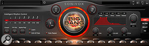 Big Bang Cinematic Percussion contains orchestral percussion from Sonivox's symphonic collection, as well as African drums and Latin percussion.
