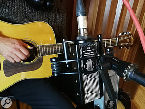 Though quite different-sounding, both mics worked well on a wide range of sources, including acoustic guitar, electric guitar and drum kit.
