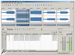 <em>CD Architect 5.2</em> may have been around for a while, but it still makes exceedingly good audio CDs.