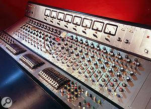 One of the most famous Sound Techniques–built desks was the original Trident Studios console.