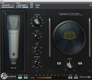 The Sphere plug-in is available in VST (2 and 3), AAX and AU formats, as well as for the UAD2 platform.