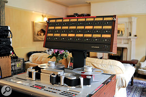 The sitting room not having its own Studer tape recorder, Spitfire had to bring their own.