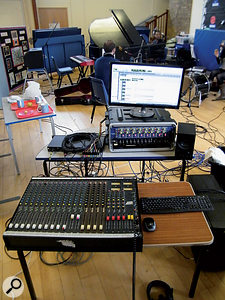Computers are great for mixing — but sometimes the extra complexity involved with using them can get in the way of a good recording...