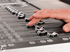 For the man in a hurry, sometimes only faders will do...