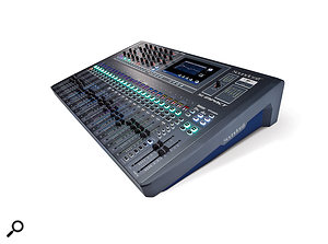 Soundcraft's FaderGlow–equipped SI Impact.