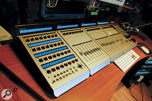 Mackie's Control Pro series are a  popular and established choice for those who miss the feel of a  'real' mixing console.