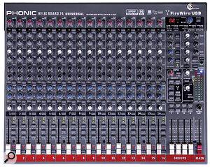 Phonic HelixBoard 24 Universal