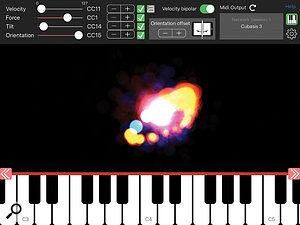 Pen2Bow allows you to use an Apple Pencil as a MIDI controller with a modern iPad.