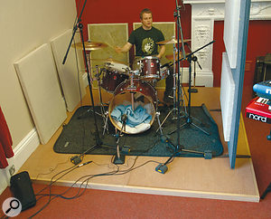 Danny Gee puts the new live room through its paces...